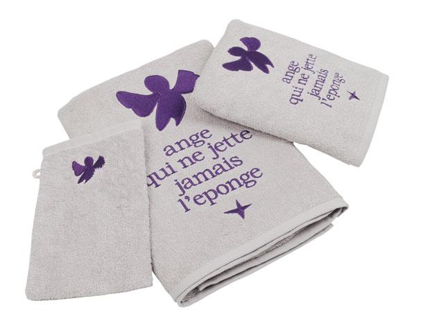 gants et serviette éponge