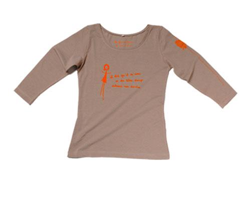 tee-shirt beige