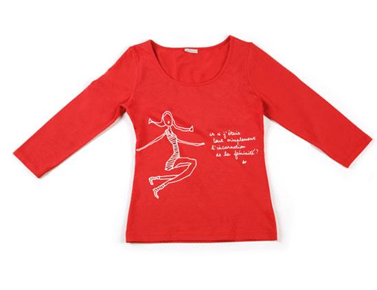 tee-shirt rouge