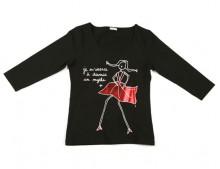 tee-shirt noir thumbnail