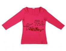 tee-shirt rose thumbnail
