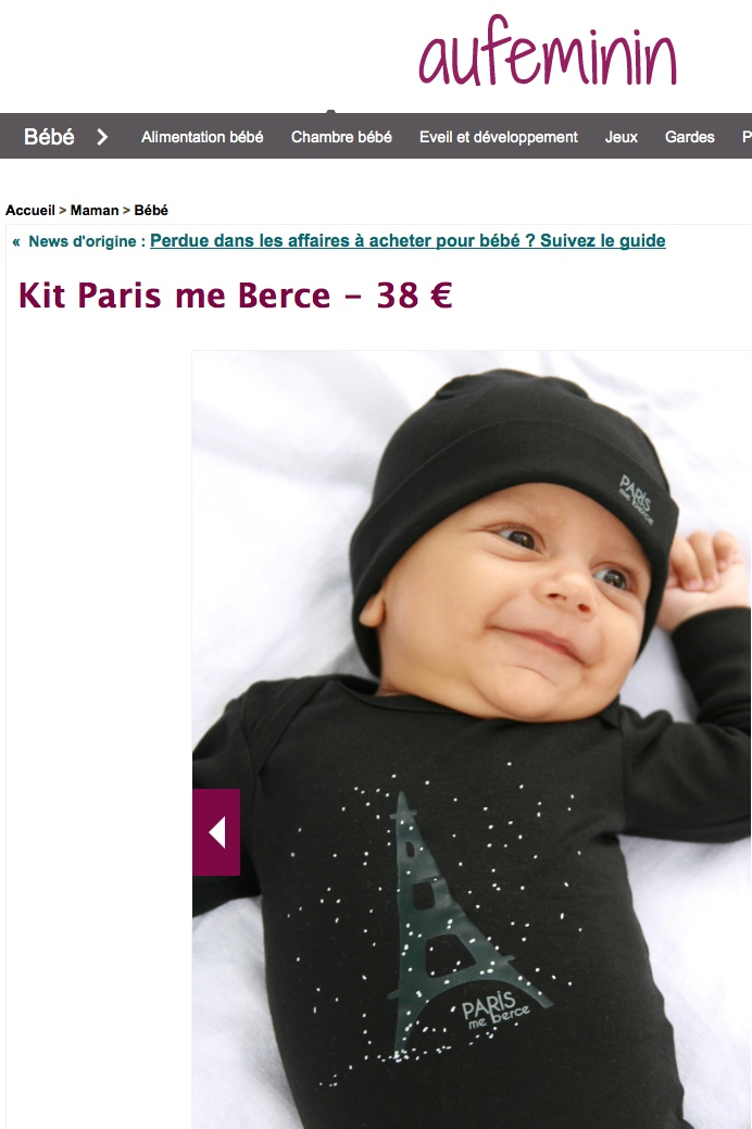 kit paris me berce